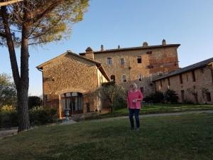 Die Burganlage Borgon Monticelli