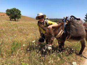 Eselwanderung in Portugal